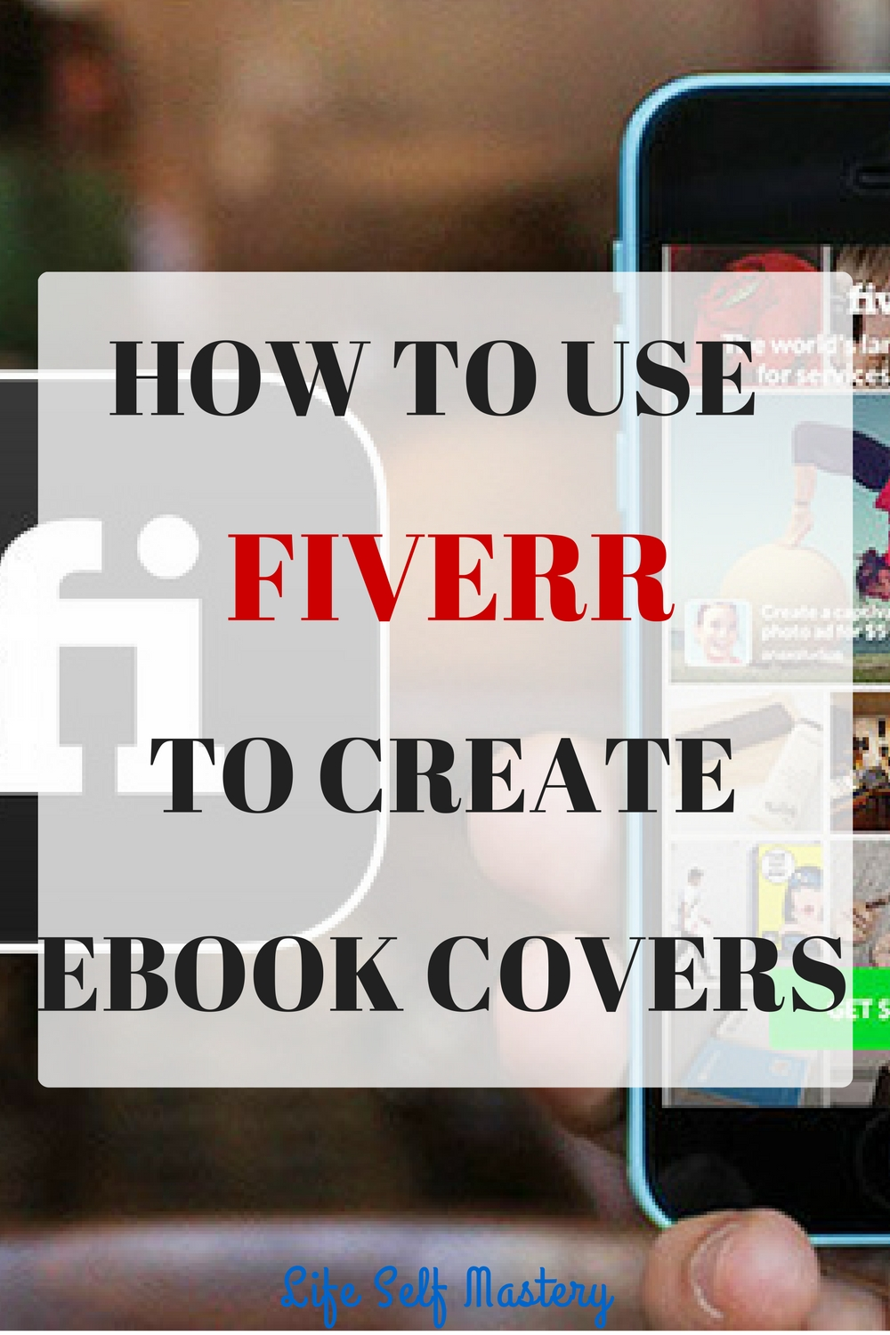 Sell Your Book Cover Design : How to use fiverr create ebook covers which will sell